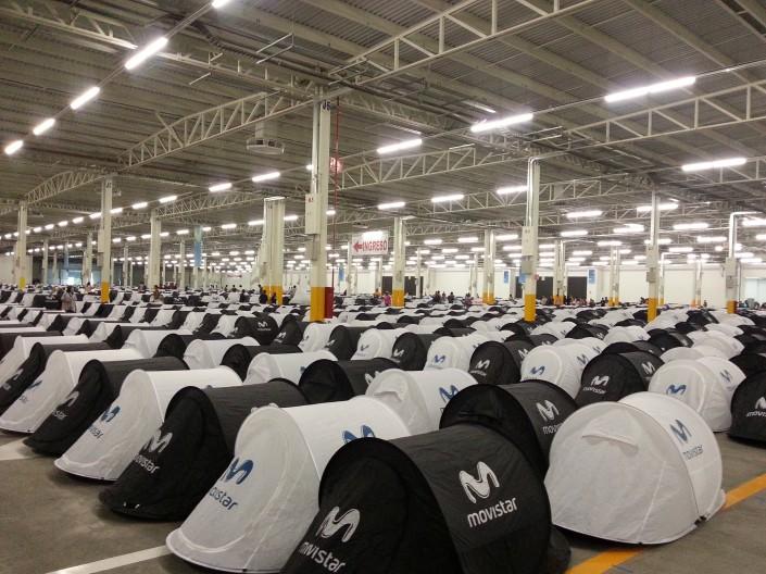 Zona de acampad