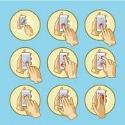 Gestos-Tactiles