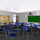 Modelo de salón 3D