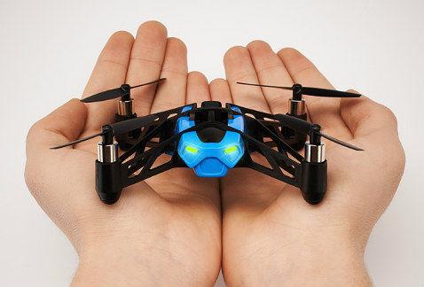 Minidrones para selfies