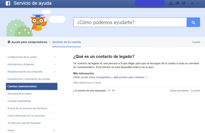 Heredero Facebook