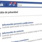 ¡Configuración en Facebook!