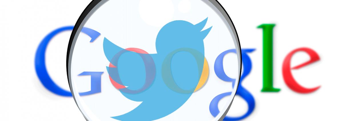 Busca tuits con Google