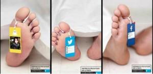 """Redes Sociales te causan la muerte"""